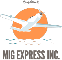 old mig auto transport logo