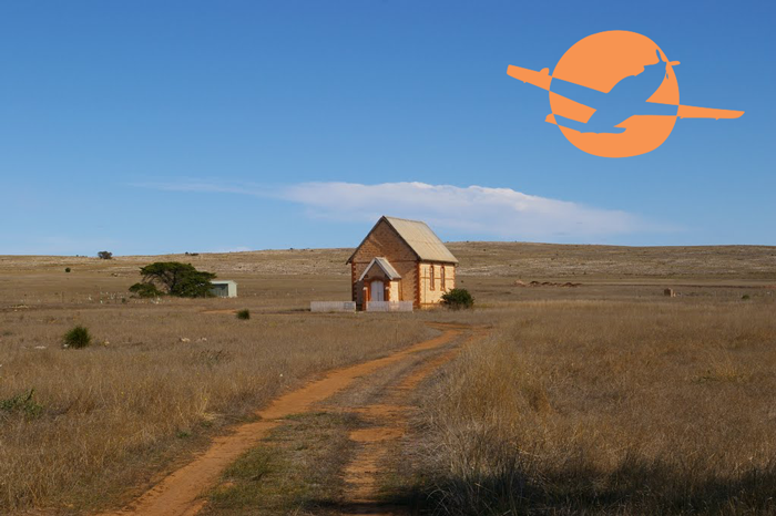 house in the middle of nowhere