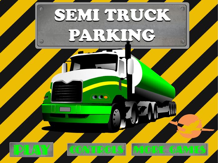 parking a truck