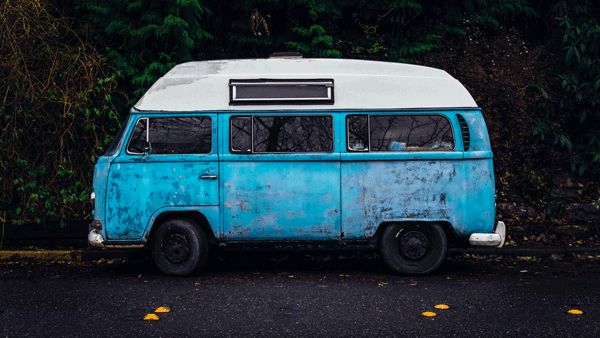 old volkswagen bus